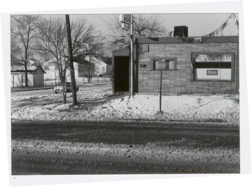 [photo: A Blackout Tavern in 1968 (photo by Tom Bevan)]