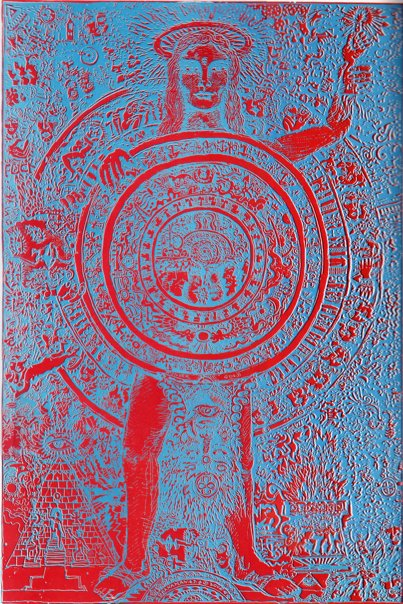 [drawing: San Francisco Oracle No. 9 Backcover by Robert Ronnie Branaman, August 1967. Copyright 1967-2009, Robert Branaman. Used with permission, all rights reserved.]