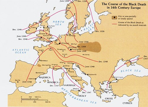 The Great Famine and the Black Death | 1315-1317, 1346-1351 ...