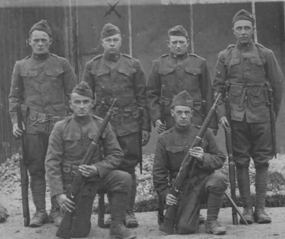 American soldiers | WWI Resource Centre