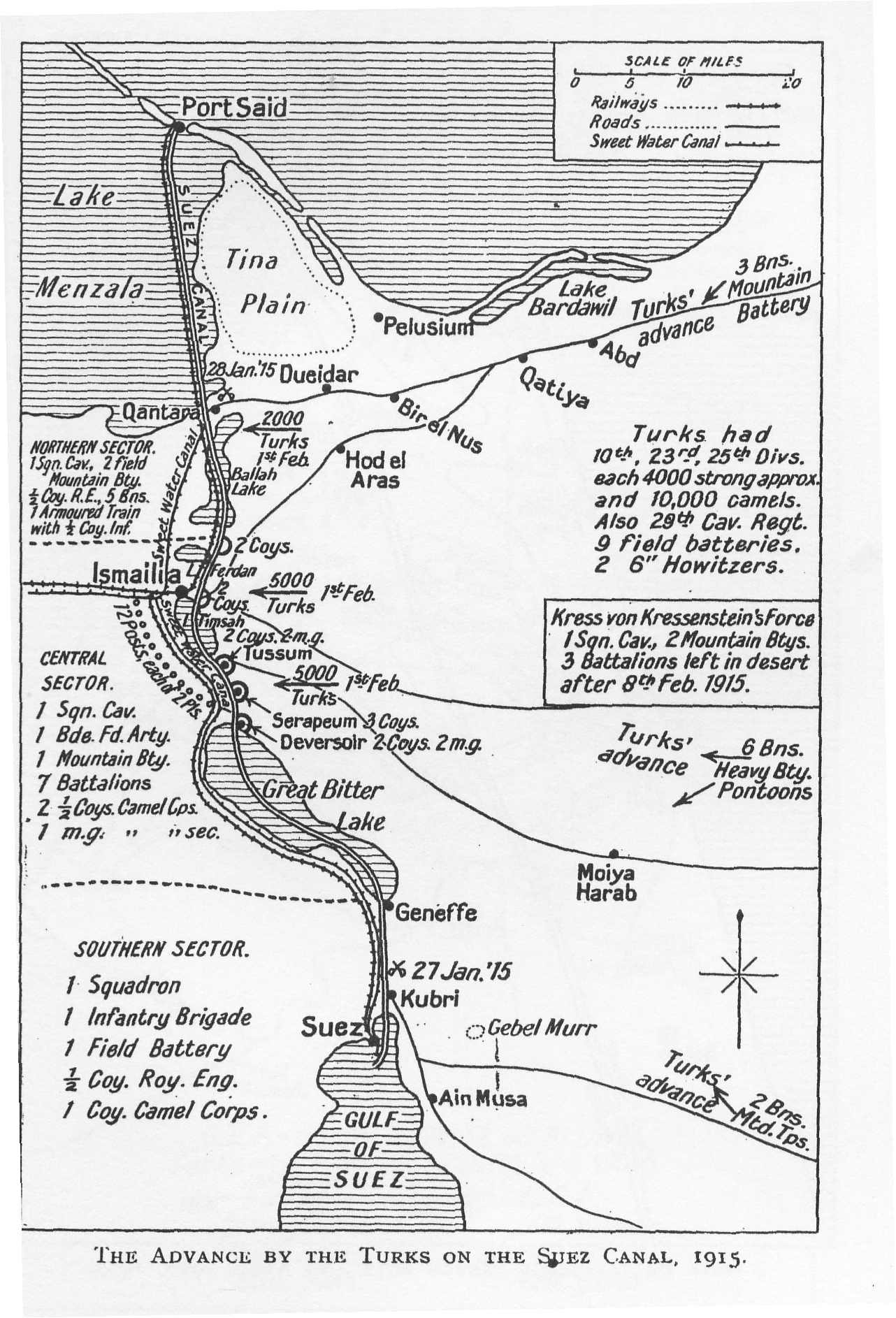 summary of the strategy and tactics of the egyptian and palestine Simple Theatre Resume wwi map the advance by the turks on the suez canal 1915